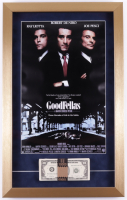 """""""Goodfellas"""" 15x24 Custom Framed Movie Poster Display With Prop Money at PristineAuction.com"""