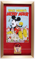 """Walt Disney's """"Mickey Mouse in Gulliver Mickey"""" 14x24 Custom Framed Print Display with 8mm Film at PristineAuction.com"""