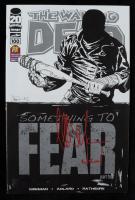 "Jeffrey Dean Morgan Signed ""The Walking Dead"" Issue #100 Comic Book Inscribed ""Negan"" (Radtke COA) at PristineAuction.com"