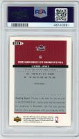 LeBron James 2003-04 Upper Deck MVP #201 RC (PSA 8) at PristineAuction.com