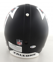 Julio Jones Signed Falcons Full-Size Authentic On-Field Helmet (Beckett COA) at PristineAuction.com