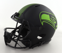 DK Metcalf Signed Seahawks Full-Size Eclipse Alternate Speed Helmet (Beckett COA) at PristineAuction.com