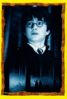 2001 Harry Potter Panini Philosopher's Stone Mystery Box at PristineAuction.com