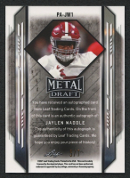 Jaylen Waddle 2021 Leaf Metal Draft Marbles Red White and Blue #JW1 Autograph RC #5/7 at PristineAuction.com