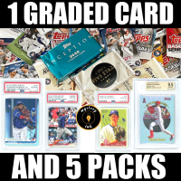 Mystery Ink 1 Graded Card AND 5 Packs Mystery Box – Baseball Edition! Hobby Pack in Each! at PristineAuction.com