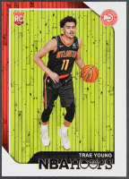 Trae Young 2018-19 Hoops #250 RC at PristineAuction.com