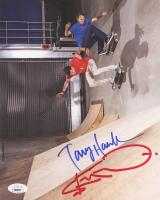 Tony Hawk & Steve-O Dual-Signed 8x10 Photo (JSA COA) at PristineAuction.com