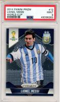 Lionel Messi 2014 Panini Prizm World Cup #12 (PSA 9) at PristineAuction.com