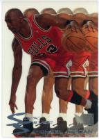 Michael Jordan 1995-96 Metal Slick Silver #3 at PristineAuction.com