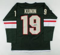 Luke Kunin Signed Jersey (Beckett COA) at PristineAuction.com