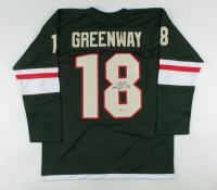 Jordan Greenway Signed Jersey (Beckett COA) at PristineAuction.com