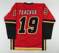 Matthew Tkachuk Signed Jersey (Beckett COA) at PristineAuction.com