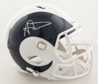 Aaron Donald Signed Rams Full-Size Speed Helmet (JSA COA) (See Description) at PristineAuction.com