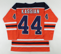 Zack Kassian Signed Jersey (Beckett COA) at PristineAuction.com