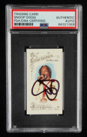 Snoop Dogg Signed 2014 Topps Allen & Ginter Mini #23 Snoop Lion (PSA Encapsulated) at PristineAuction.com