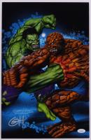 "Greg Horn Signed Marvel ""Fantastic Four"" 11x17 Lithograph (JSA COA) (See Description) at PristineAuction.com"