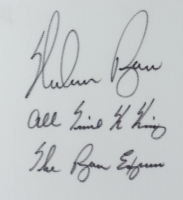 """Nolan Ryan Signed 34x41.5 Custom Framed Jersey Display Inscribed """"All Time K King"""" & """"The Ryan Express"""" (JSA COA) (See Description) at PristineAuction.com"""