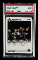 Wayne Gretzky 1991-92 Upper Deck #437 (PSA 9) at PristineAuction.com