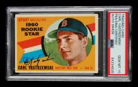 Carl Yastrzemski Signed 1960 Topps #148 RS RC (PSA Encapsulated) at PristineAuction.com