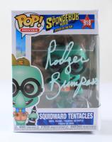"Rodger Bumpass Signed ""The SpongeBob Movie"" #918 Squidward Tentacles Funko Pop! Vinyl Figure (PSA Hologram) (See Description) at PristineAuction.com"