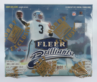 1998 Fleer Brilliants Football Hobby Box With (24) Packs at PristineAuction.com
