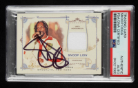 Snoop Lion Signed 2014 Topps Allen and Ginter Relics #FRBSL B (PSA Encapsulated) at PristineAuction.com