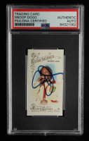 Snoop Lion Signed 2014 Topps Allen and Ginter Mini #23 (PSA Encapsulated) at PristineAuction.com