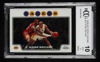 Kobe Bryant 2008-09 Topps Chrome #24 (BCCG 10) at PristineAuction.com