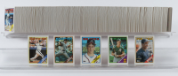 Complete Set of 1988 Topps Baseball Cards with Tom Glavine #779 RC, Keith Comstock #778B, Ken Caminiti #64 RC, Mark McGwire #580, Barry Bonds 1988 Topps #450 at PristineAuction.com