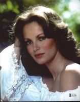 """Jaclyn Smith Signed 8x10 Photo Inscribed """"Much Love To You Both"""" (Beckett COA) at PristineAuction.com"""