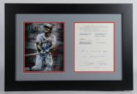 "Pete Rose Signed Reds 18x25.5 Custom Framed Letter Display Inscribed ""I'm Sorry I Bet On Baseball"" (JSA COA) at PristineAuction.com"