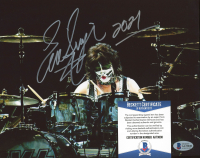 """Eric Singer Signed Kiss 8x10 Photo Inscribed """"2021"""" (Beckett COA) at PristineAuction.com"""