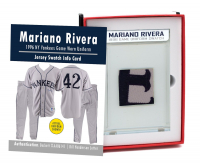 MARIANO RIVERA 1996 YANKEES GAME-WORN UNIFORM MYSTERY SEALED SWATCH BOX! at PristineAuction.com