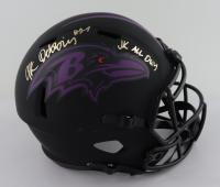 """J. K. Dobbins Signed Ravens Full-Size Eclipse Alternate Speed Helmet Inscribed """"JK All Day"""" (JSA COA) (See Description) at PristineAuction.com"""