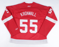 Niklas Kronwall Signed Red Wings Jersey (JSA COA) (See Description) at PristineAuction.com