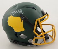 Davante Adams Signed Full-Size Authentic On-Field Hydro-Dipped Vengeance Helmet (Beckett COA) (See Description) at PristineAuction.com
