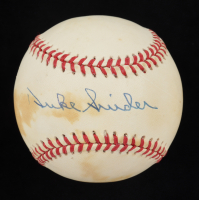 Duke Snider Signed ONL Baseball (PSA COA) (See Description) at PristineAuction.com