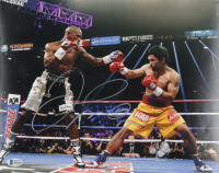 Floyd Mayweather Jr. Signed 11x14 Photo (Beckett Hologram) at PristineAuction.com