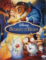 """Robby Benson, Paige O'Hara & Richard White Signed """"Beauty and The Beast"""" 11x14 Photo with (3) Character Inscriptions (PSA LOA) at PristineAuction.com"""