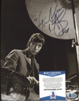 Charlie Watts Signed 8x10 Photo (Beckett COA) at PristineAuction.com