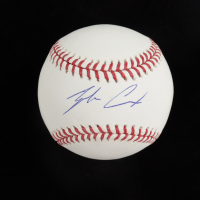 Zack Cox Signed OML Baseball (SidsGraphs COA) at PristineAuction.com
