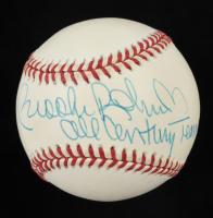 "Brooks Robinson Signed OAL Baseball Inscribed ""All Century Team"" (PSA COA) at PristineAuction.com"