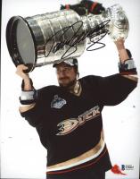 Teemu Selanne Signed Ducks 8x10 Photo (Beckett COA) at PristineAuction.com