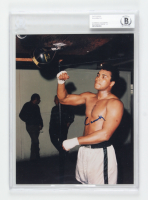 Muhammad Ali Signed 8x10 Photo (BGS Encapsulated) at PristineAuction.com
