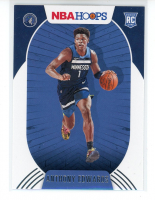 Anthony Edwards 2020-21 Hoops #216 RC at PristineAuction.com