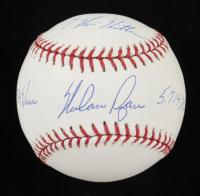 "Nolan Ryan Signed OML Baseball Inscribed ""7 No Hitters"" ""324 Wins"" & ""5,714 K's""  (PSA LOA) at PristineAuction.com"