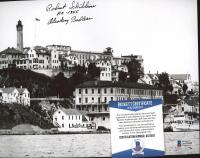 "Robert Schibline Signed 8x10 Photo Inscribed ""Alcatraz Badass"" & ""AZ-1355"" (Beckett COA) at PristineAuction.com"