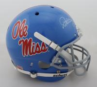 Archie Manning Signed Ole Miss Rebels Full-Size Helmet (Radtke Hologram) at PristineAuction.com