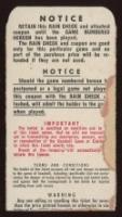 Original 1951 Yankees World Series Ticket Stub (See Description) at PristineAuction.com