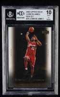 LeBron James 2003 Upper Deck LeBron James Box Set #25 / On the Rise (BCCG 10) at PristineAuction.com